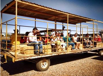 family at superstition farm